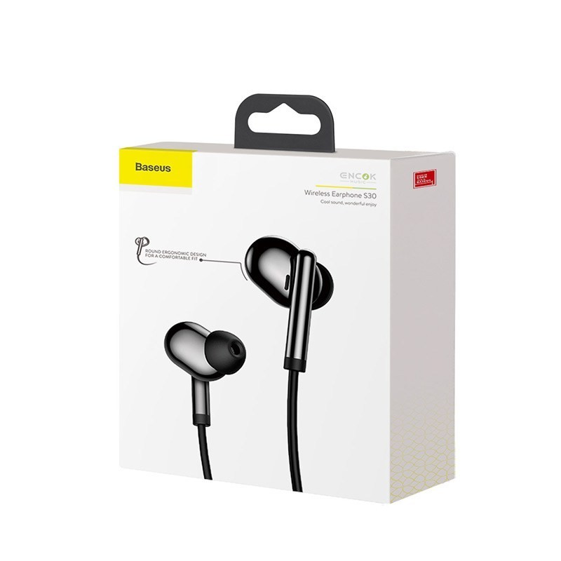 Baseus Encok Wireless Earphone S30 Матовые NGS30-0A — фото