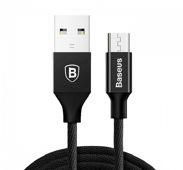 Baseus Yiven Cable For Micro 1M черный