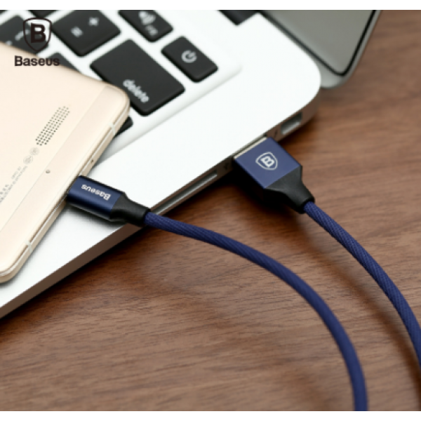 Baseus Yiven Cable For Micro 1M темно-синий