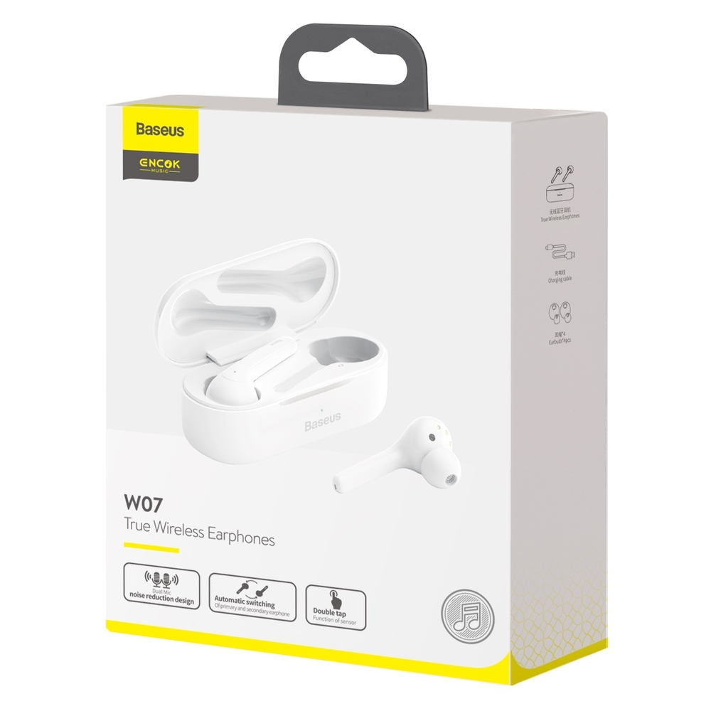Baseus Encok True Wireless Earphones W07 Белый NGW07-02