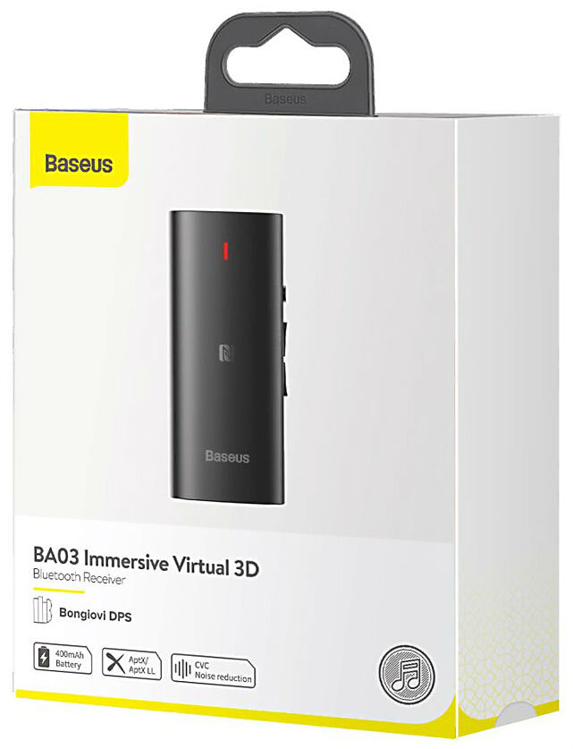 Baseus BA03 Immersive Virtual 3D Bluetooth-приемник , черный